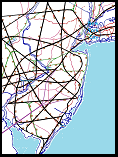 Sample hexOgrid map of NJ