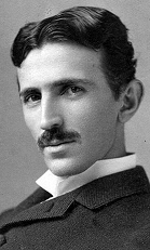 Young Tesla in Wikipedia